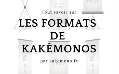 Kakemono : quel format choisir ?